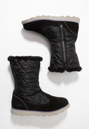ROEA  GTX  - Zimní obuv - black/old rose