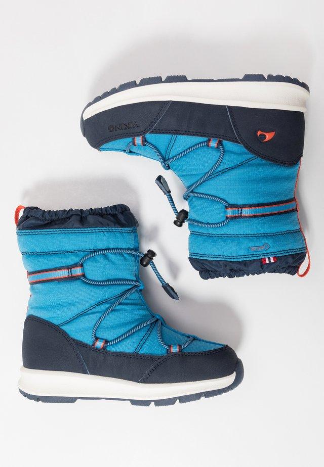 ASAK GTX - Snowboots  - blue/navy