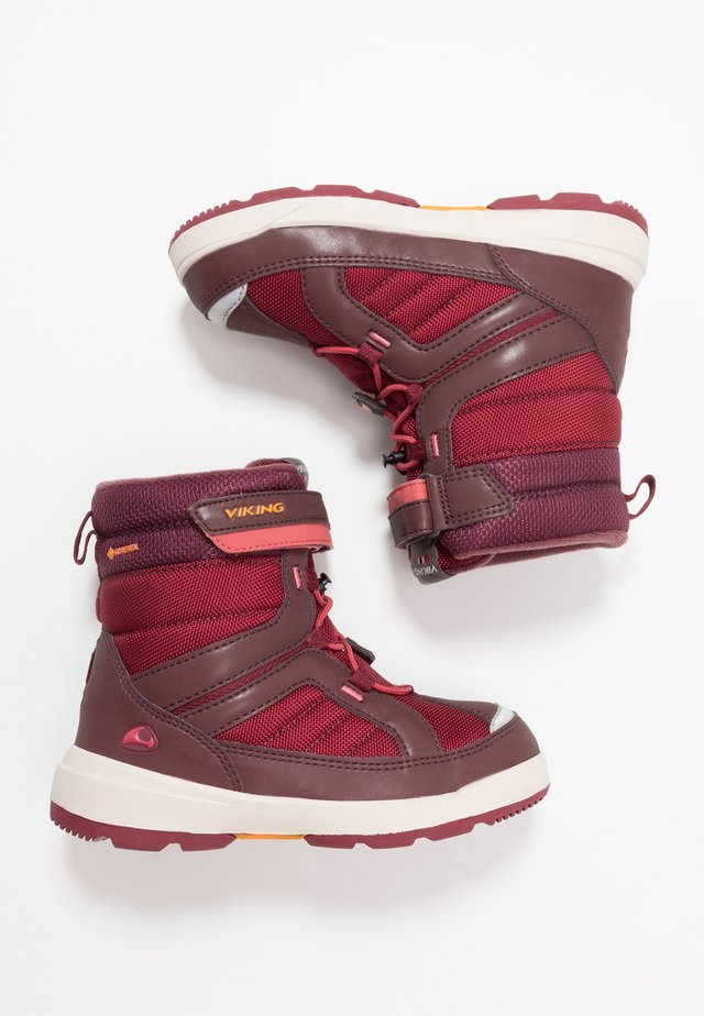 PLAYTIME GTX - Snowboot/Winterstiefel - wine/dark red
