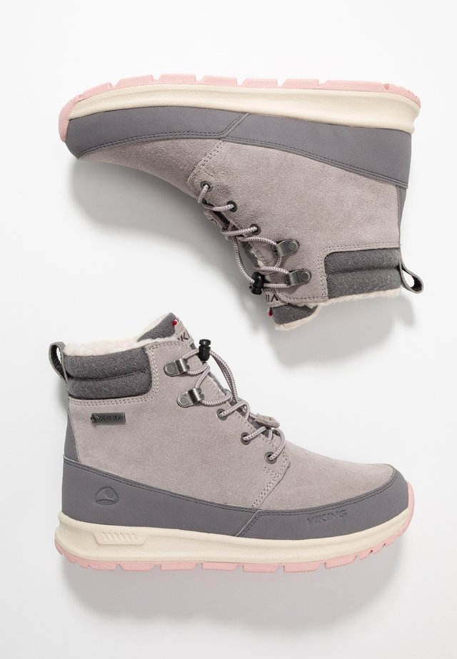 ROTNES GTX - Winter boots - pearl grey/dark grey