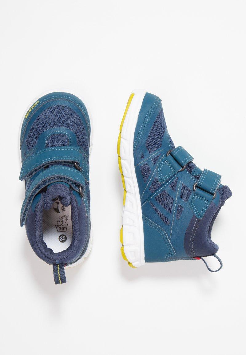 Viking - VEME MID GTX - Hiking shoes - denim/lime