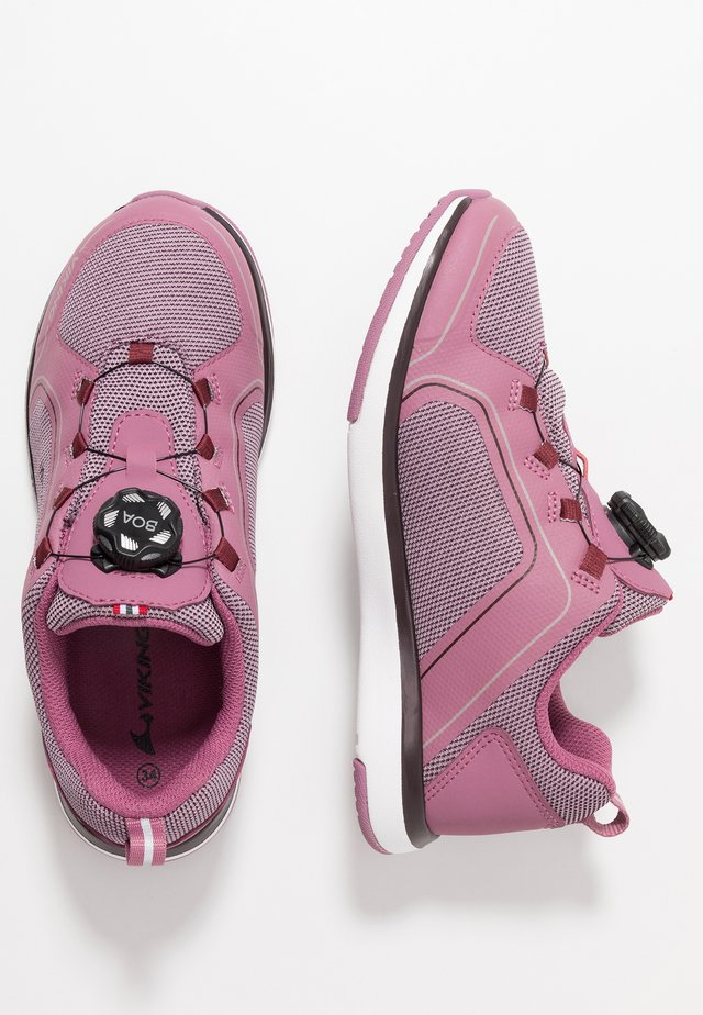 SEIM BOA GTX - Walking trainers - dark pink/violet