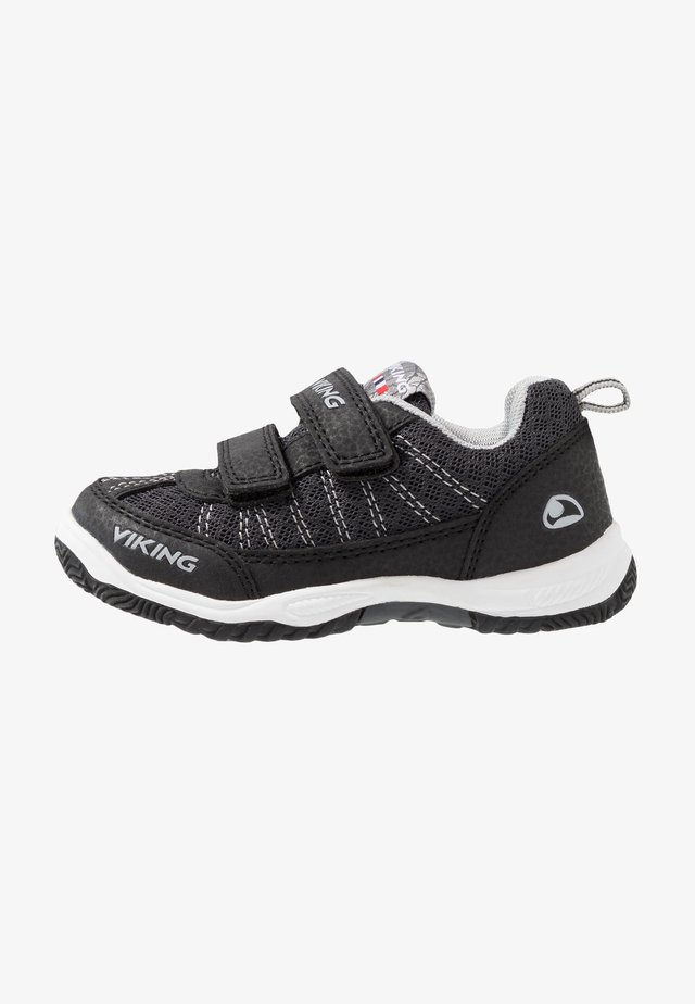 BRYNE - Chaussures de marche - black/grey