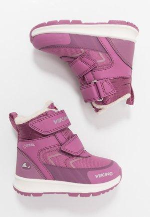 ELLA GTX - Stivali da neve  - dark pink/violet