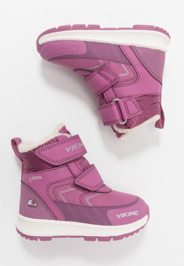 ELLA GTX - Snowboots  - dark pink/violet