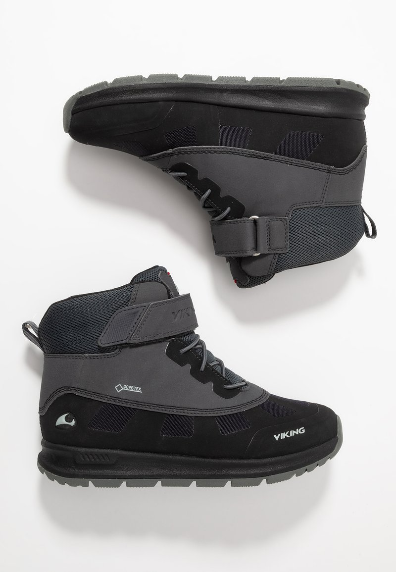 Viking - TED GTX - Obuwie hikingowe - black/charcoal