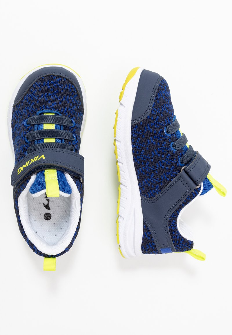 Viking - VEIL - Sports shoes - navy/lime