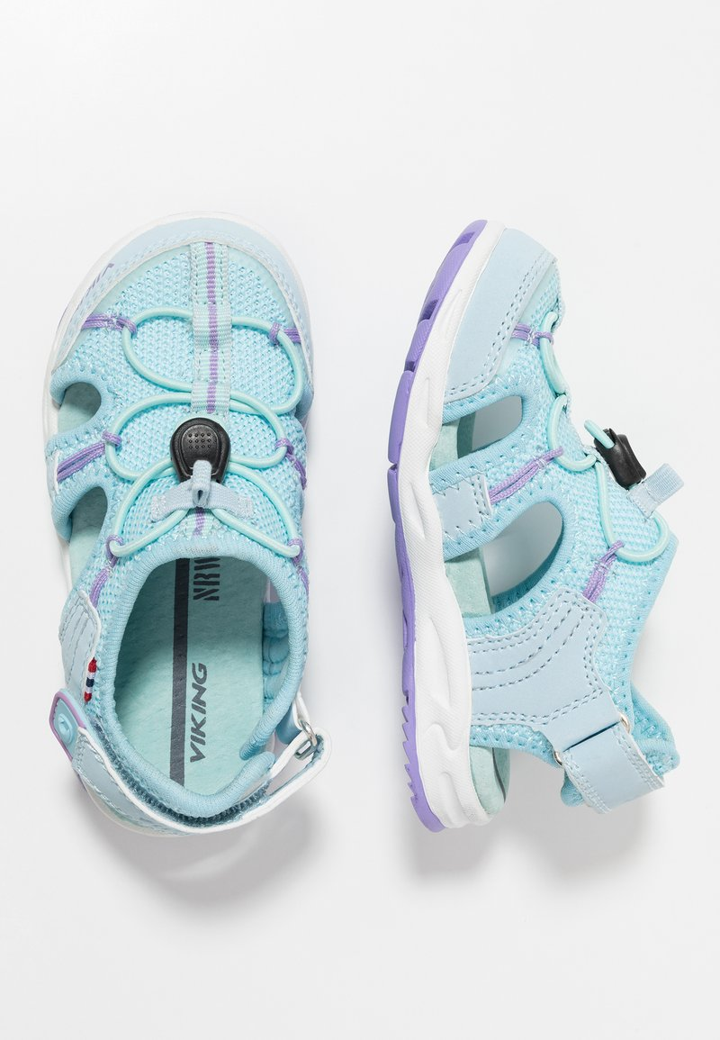 Viking - THRILL II - Sandalias de senderismo - light blue/ice blue