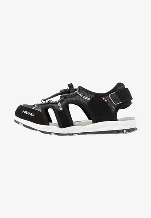 THRILL II - Chodecké sandály - black/grey