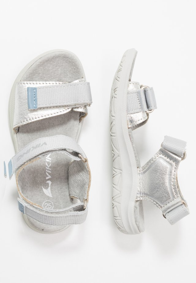 OLIVIA - Walking sandals - light grey