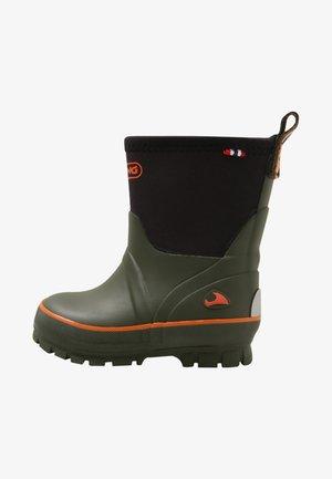 SOLAN NEO UK - Stivali di gomma - green/multi