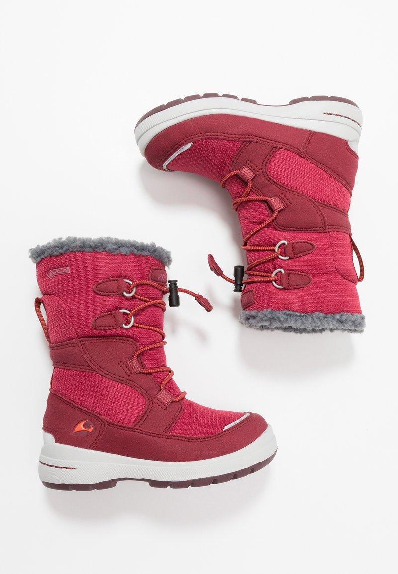 Viking - TOTAK GTX - Winter boots - dark red/red