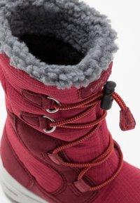 Viking - TOTAK GTX - Winter boots - dark red/red - 2