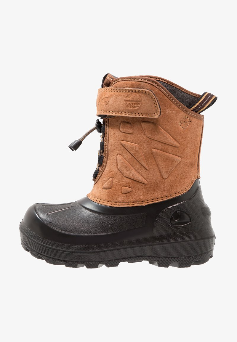 Viking - NORDLYS  - Winter boots - mustard/black