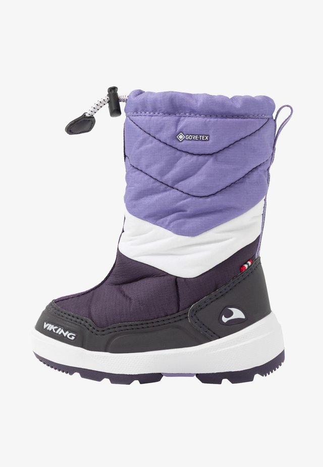 HALDEN GTX - Winter boots - aubergine/purple