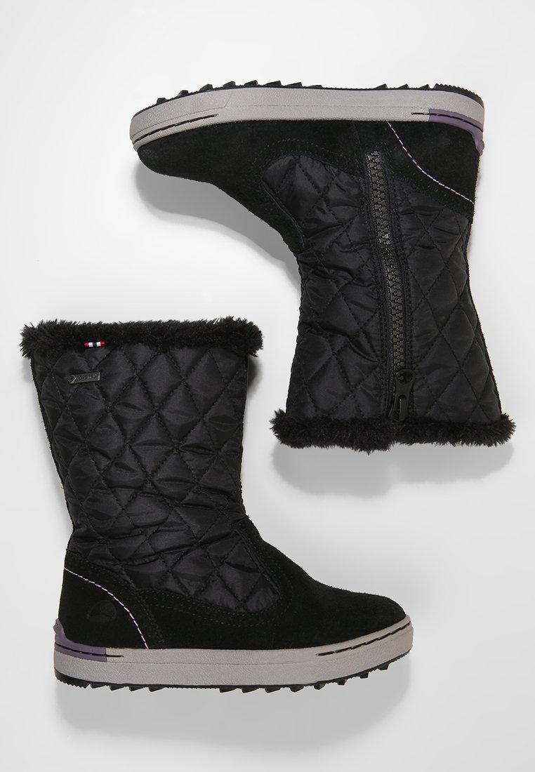 Viking - MISJE - Winter boots - black/old rose