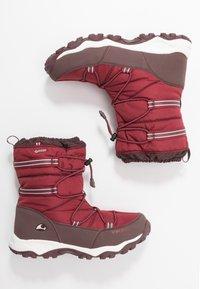 Viking - TOFTE GTX - Zimní obuv - dark red/wine - 0