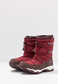Viking - TOFTE GTX - Zimní obuv - dark red/wine - 3