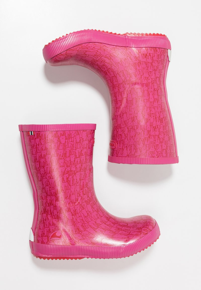 Viking - CLASSIC INDIE RABBITS - Wellies - magenta/multicolor