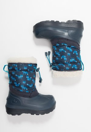 SNOWFALL FOX - Winter boots - navy