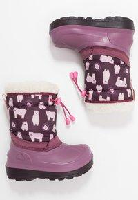 Viking - SNOWFALL BEAR - Zimní obuv - violet/pink - 0