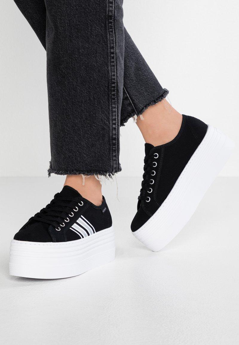 Victoria Shoes - BARCELONA DOBLE LONA - Joggesko - black