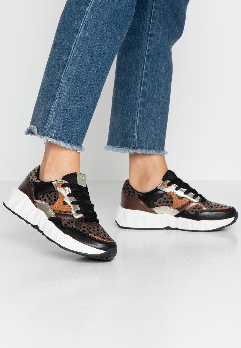 Victoria Shoes - ARISTA ANIMAL PRINT - Sneaker low - black
