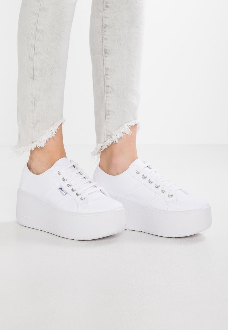 Victoria Shoes - VALIENTE LONA - Sneakers laag - blanco