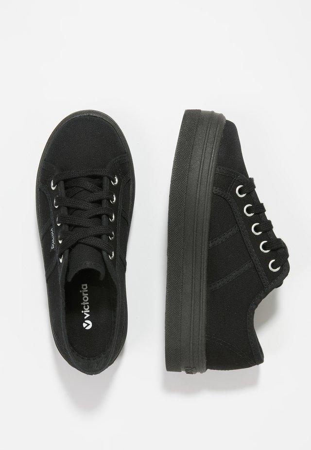 BASKET LONA - Sneakers laag - black