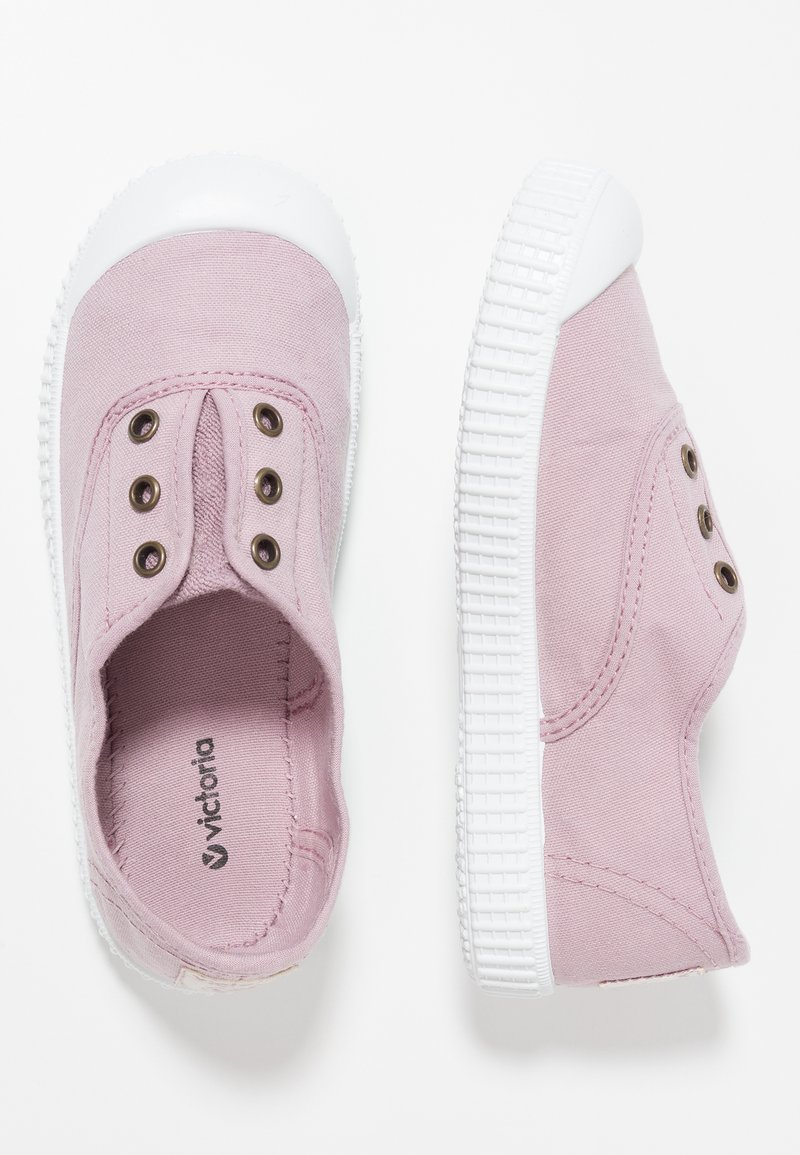 Victoria Shoes - INGLESA LONA TINTADA - Loafers - violeta