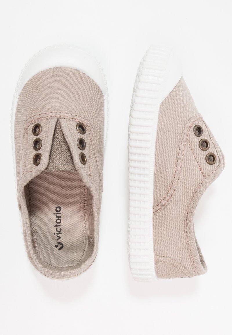 Victoria Shoes - INGLESA LONA TINTADA - Mocassins - beige