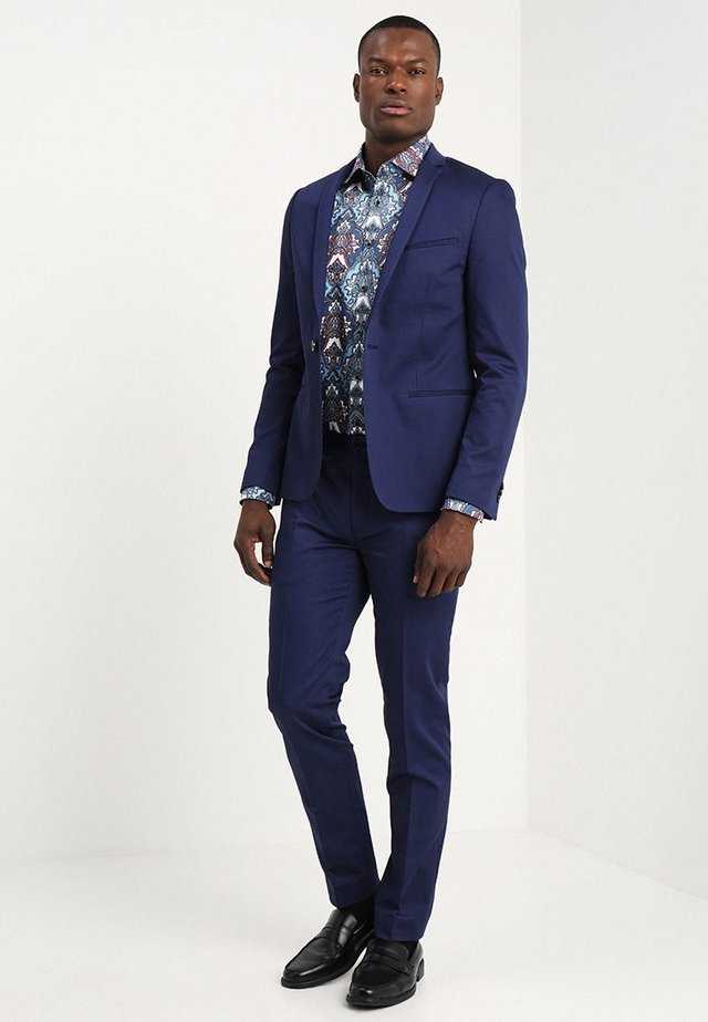 MALMO SUIT SLIM FIT - Suit - navy