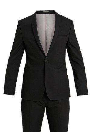 GOTHENBURG SUIT SLIM FIT - Oblek - black