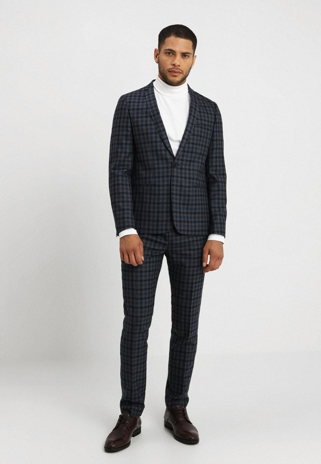 UPPSALA SUIT SLIM FIT - Suit - blue