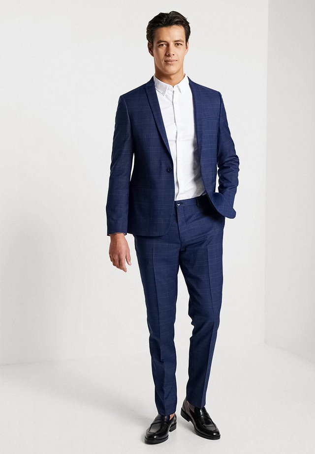 LUND SUIT SLIM FIT - Suit - royal blue