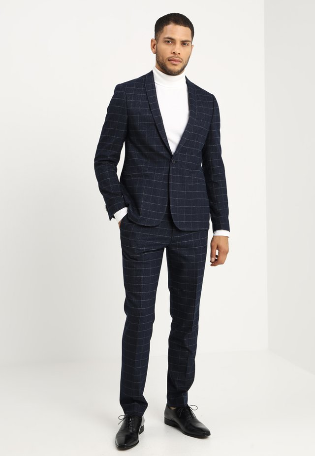 GAVEL SUIT SLIM FIT - Suit - navy