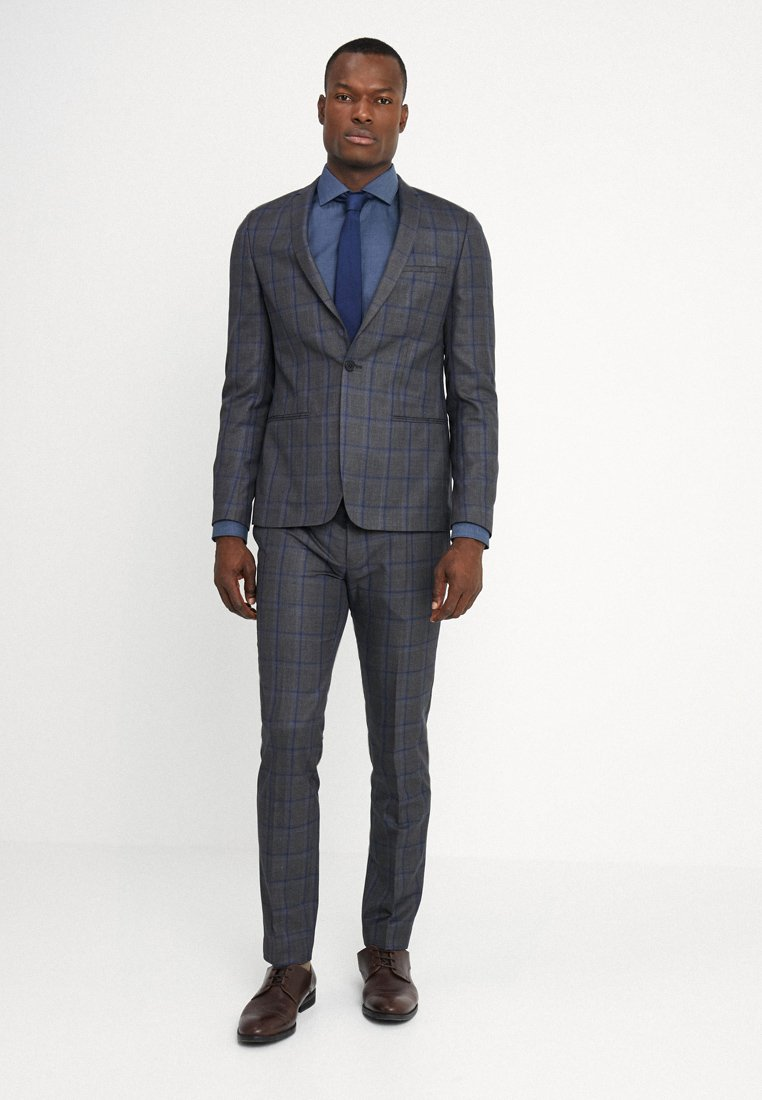 Viggo - NORRKOPING SUIT SLIM FIT - Suit - grey