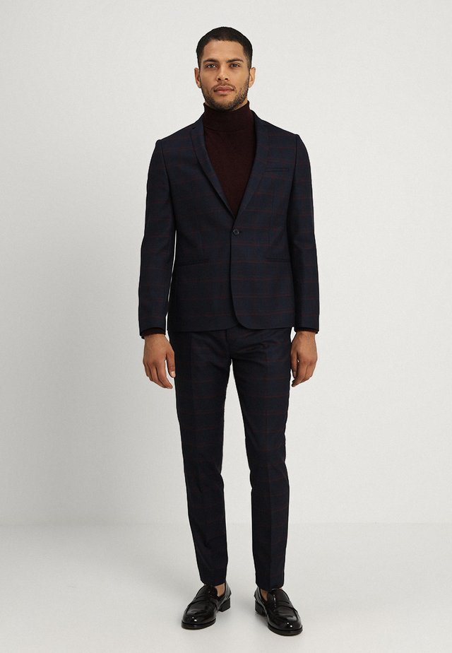 NORRKOPING SUIT SLIM FIT - Suit - navy