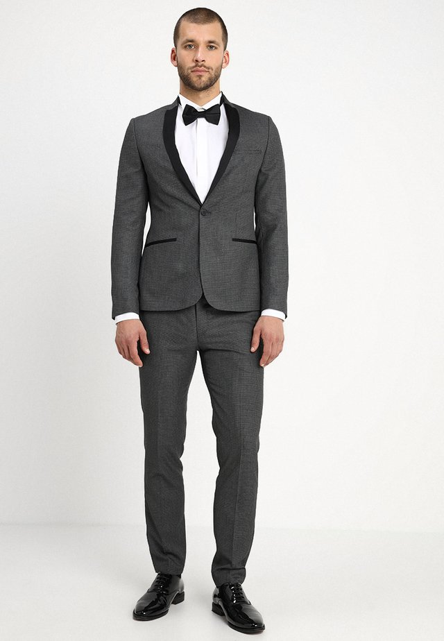 OREBRO TUX SLIM FIT - Suit - grey