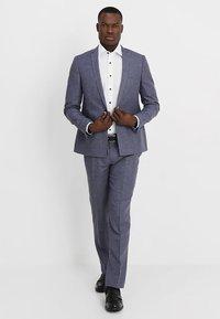Viggo - VAXJO SUIT SLIM FIT - Suit - blue - 1