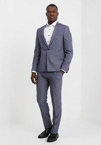 Viggo - VAXJO SUIT SLIM FIT - Suit - blue - 0