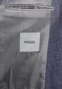 Viggo - VAXJO SUIT SLIM FIT - Suit - blue - 9