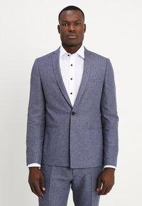 Viggo - VAXJO SUIT SLIM FIT - Suit - blue - 2
