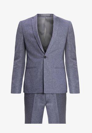 VAXJO SUIT SLIM FIT - Suit - blue