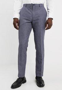 Viggo - VAXJO SUIT SLIM FIT - Suit - blue - 4