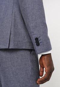 Viggo - VAXJO SUIT SLIM FIT - Suit - blue - 11