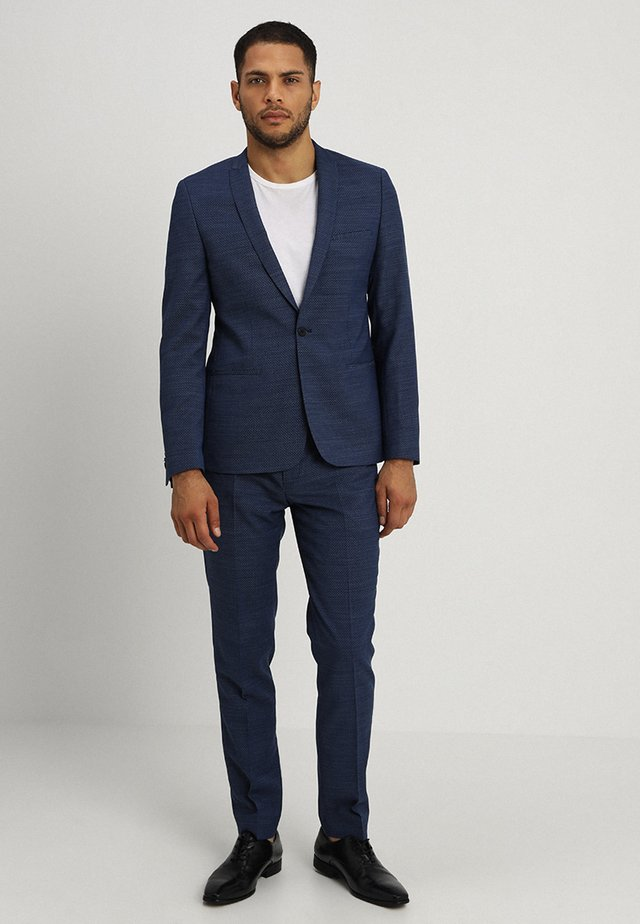 JONKOPING SUIT SLIM FIT - Suit - blue
