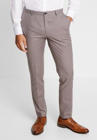 Viggo - GOTHENBURG SUIT - Garnitur - taupe - 4