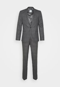 Viggo - CHECK - SLIM FIT SUIT - Completo - charcoal - 0