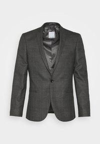 Viggo - CHECK - SLIM FIT SUIT - Completo - charcoal - 1